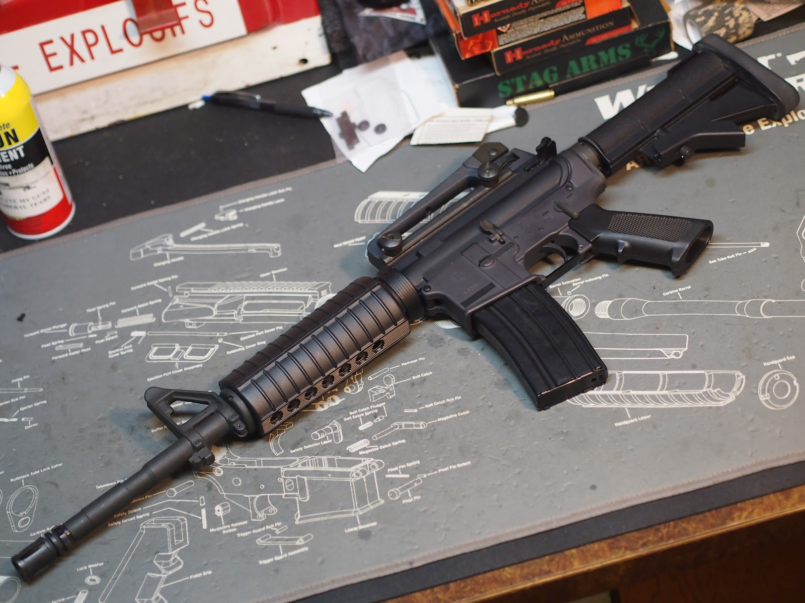 Mister Donut's Firearms Blog: Armalite 14 5