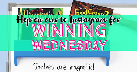 Winning Wednesday giveaway on Instagram!