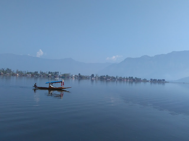 view from dal lake