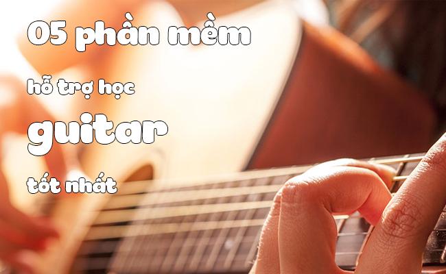 phan mem ho tro hoc guitar