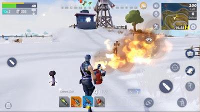 تحميل لعبة الباتل رويال Creative Destruction كاملة للأندرويد