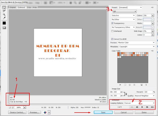 Cara Membuat Dp Bbm Bergerak Dengan Photoshop Ajipedia Baca