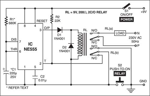 Electrical And Electronics Engineering  False Triggering Eliminator For Timer 555