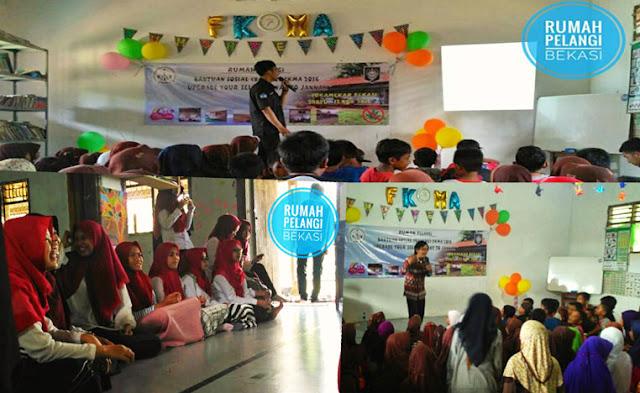 Baksos Forum Komunikasi Mahasiswa Attaqwa di Rumah Pelangi Bekasi