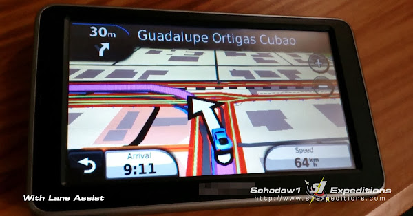 Lane Assist Philippine Routable GPS Map - Schadow1 Expeditions