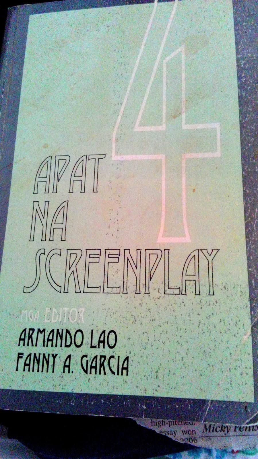 apat na screenplay armando lao a garcia editors book review