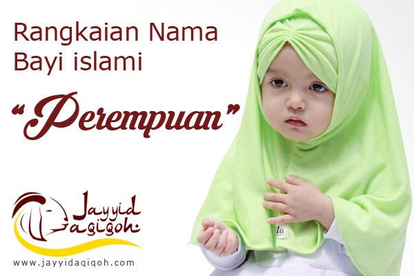 Nama Bayi Perempuan Islami (1-25)