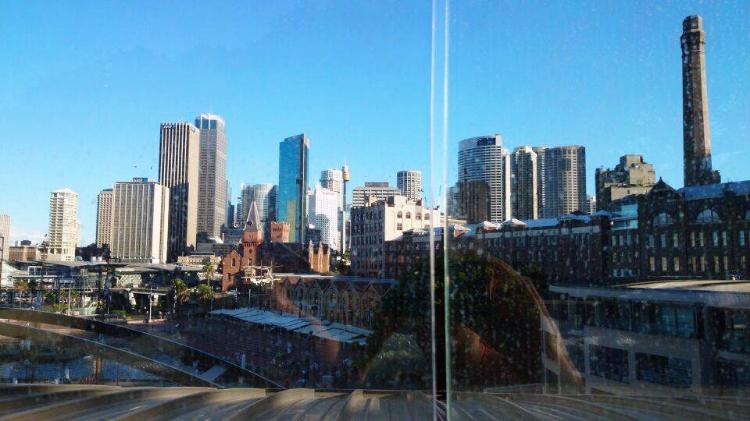 Park Hyatt Sydney rooftop pool, view, Australia, Euriental