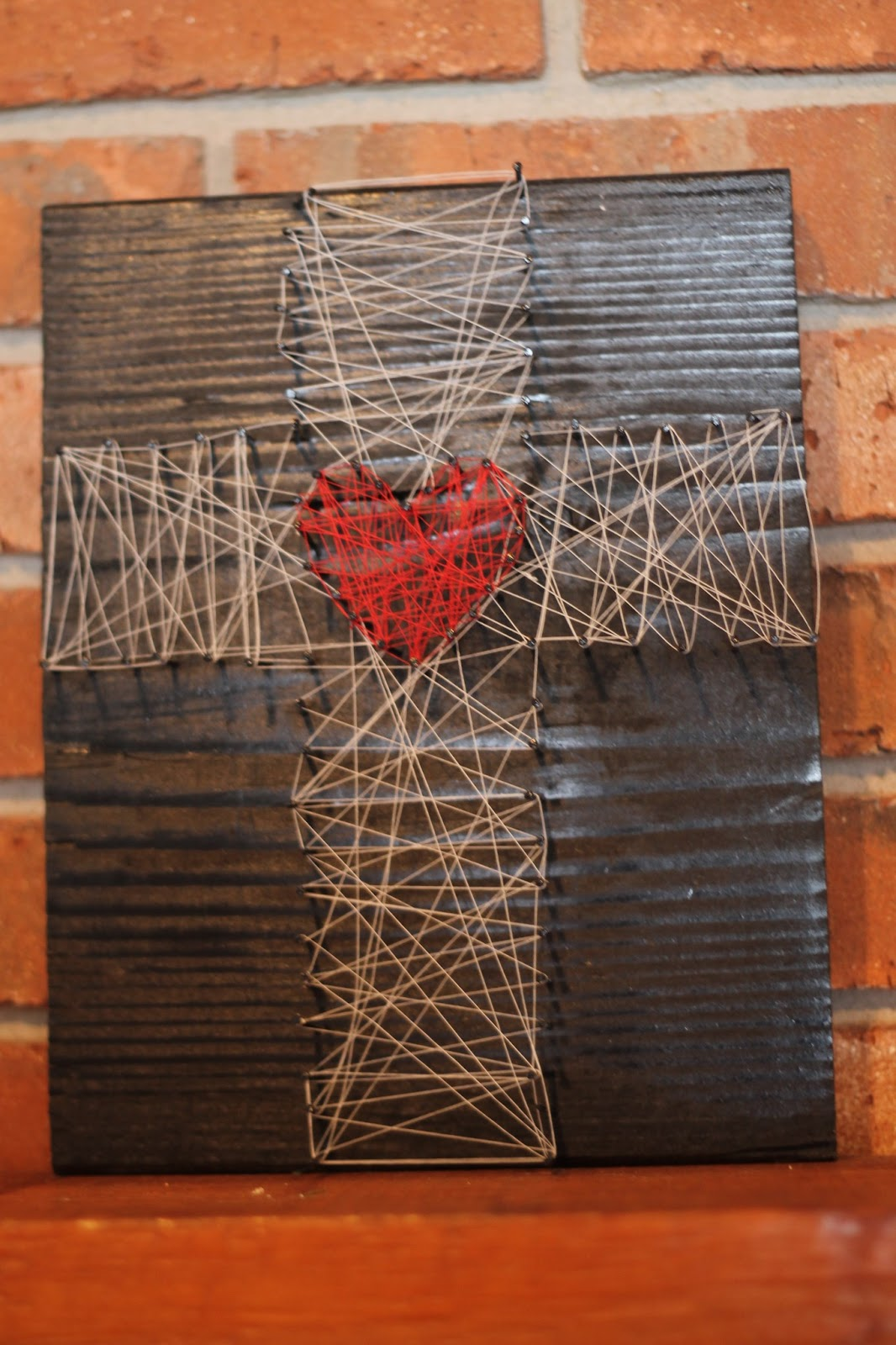 Lenten Nail and String Art - Do Small Things with Great Love