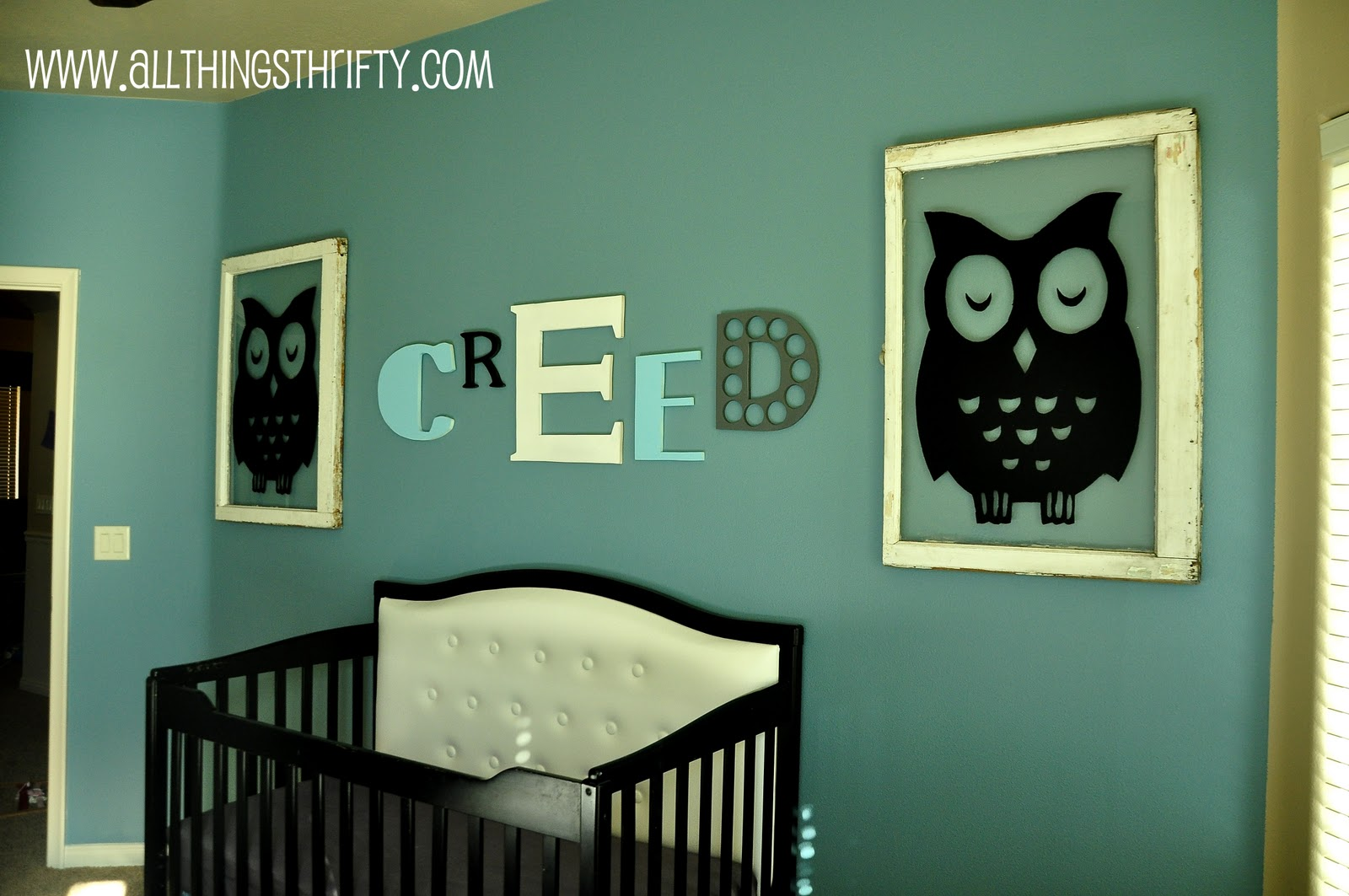 Wall Art  Easy And Inexpensive  May Still Use This Idea Sometime In. Baby  Boy Nursery ...