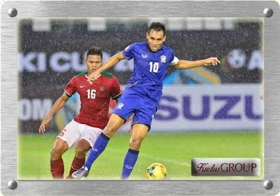 Timnas Indonesia Takluk 2-4 dari Timnas Thailand di Piala AFF 2016