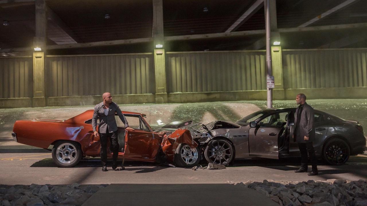 Vin Diesel Jason Statham | Fast & Furious 7