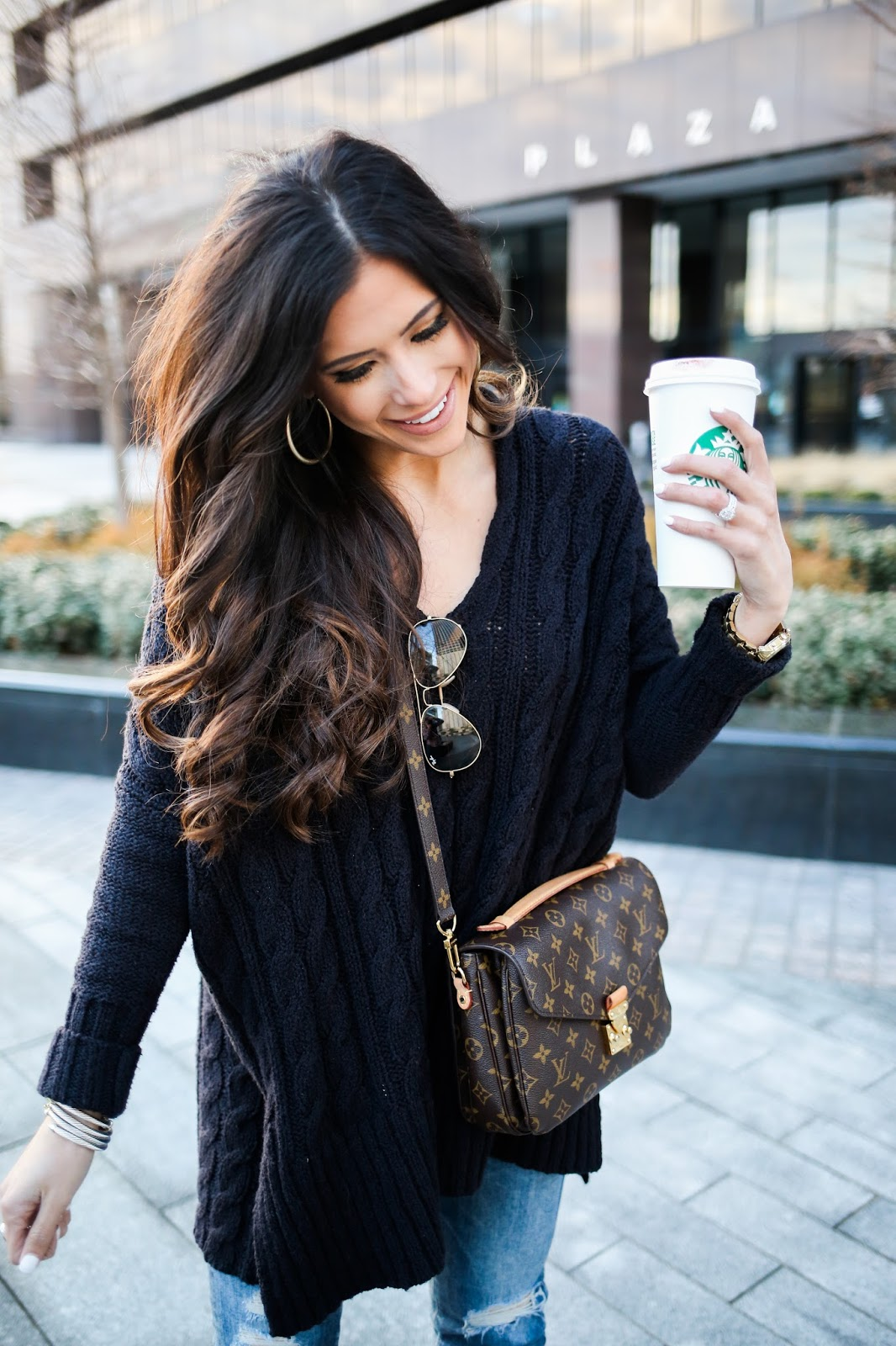 Oversized Cable Knit The Sweetest Thing Bloglovin