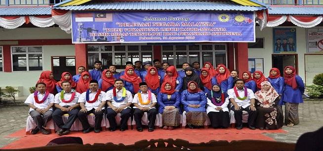 LAWATAN DELEGASI KVLC KE MIGAS RIAU INDONESIA