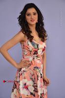 Actress Richa Panai Pos in Sleeveless Floral Long Dress at Rakshaka Batudu Movie Pre Release Function  0008.JPG
