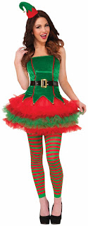 Sassy Elf Adult Costume