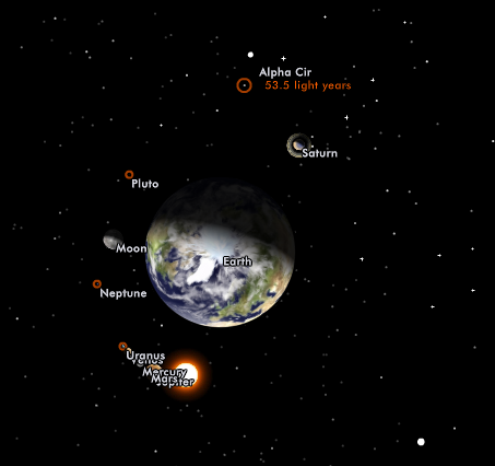 views of real solar system - photo #1
