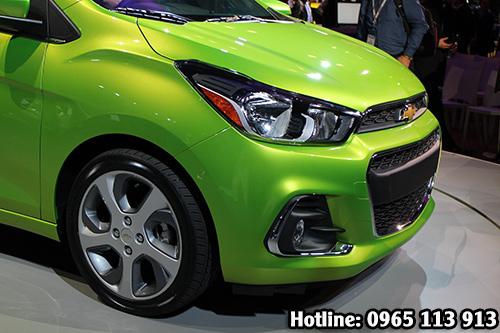 Chevrolet Spark Van 2016 cải thiện thêm cụm đèn gầm xe