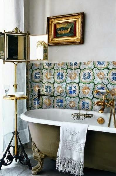baño estilo provenzal