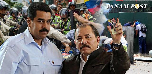 Los métodos dictatoriales que comparten Daniel Ortega y Nicolás Maduro