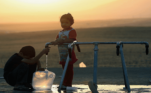 دولتان عربيتان من أكثر مناطق العالم شحا بالمياه العذبة.؟!!