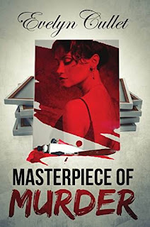 Masterpiece of Murder - a fun cozy mystery book promotion Evelyn Cullet