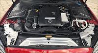 Khoang động cơ Mercedes C300 AMG 2018