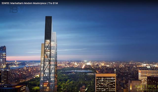 Xu hướng nhà chọc trời siêu nhỏ ở New York - super skinny tower.