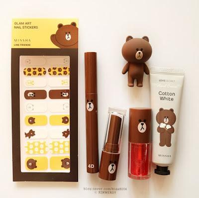 korean_beauty_prodcuts_missah_line_friends