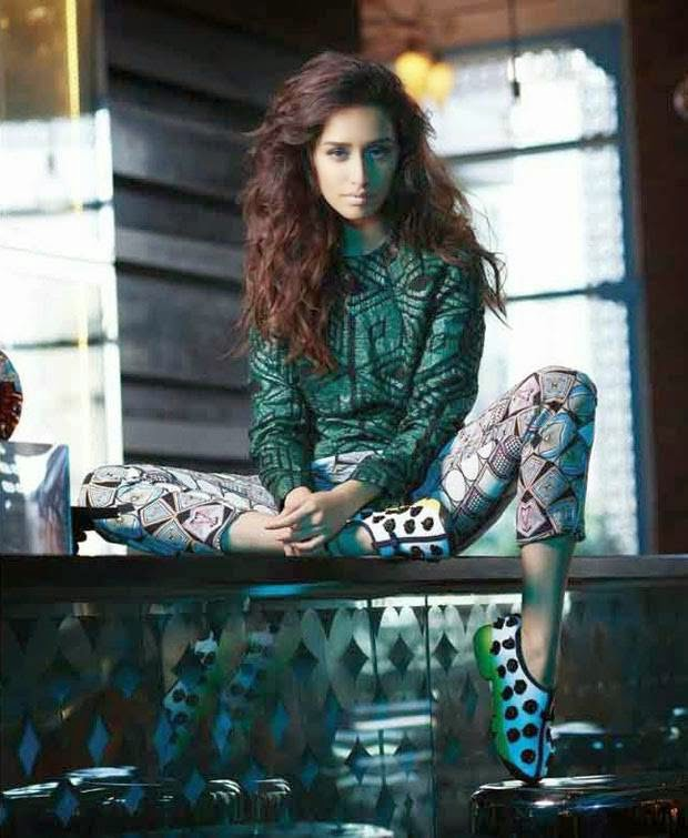 Shraddha Kapoor Photoshoot Stills For L Officiel Magazine December 2014