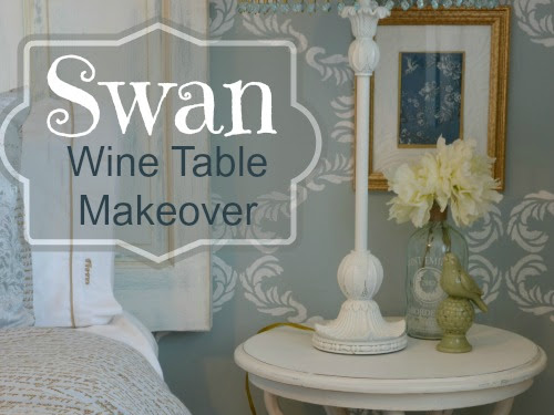 An Indonesian Swan Table Makeover