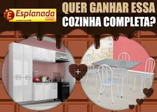 Promoção Esplanada Móveis Desejo de Páscoa Cozinha Completa