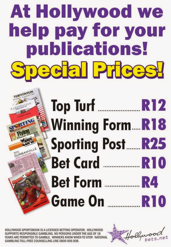 Hollywoodbets Sports Blog: Racing Publications - Special