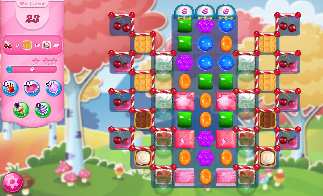 Candy Crush Saga level 6930