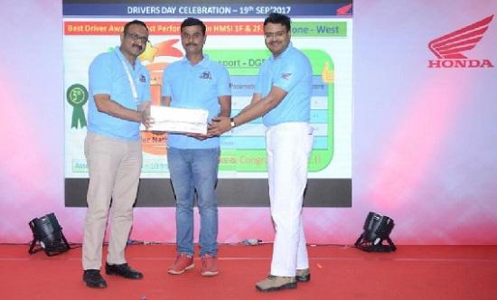 Honda 2 Wheelers India celebrates International Truck Drivers Day 2017