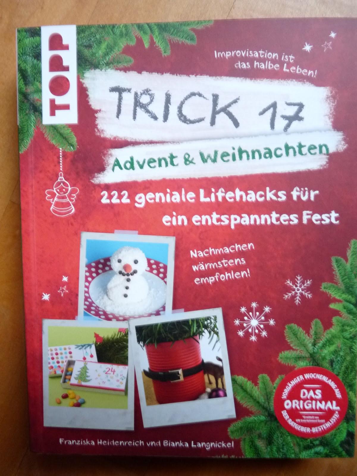WERBUNG – Trick 17 Advent & Weihnachten – Muschelmaus