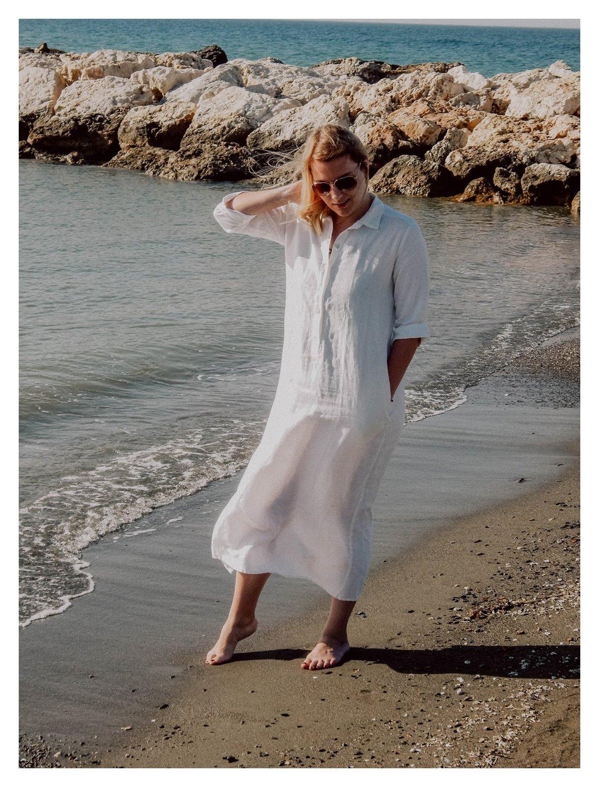 lenoui lniane ubrania sukienki zalety wady lnu jak prać dla dzieci pościel lniana zasłony z lnu moda polskie marki modowe fashion łódź malaga hiszpania blog lifestyle podróże melodylaniella