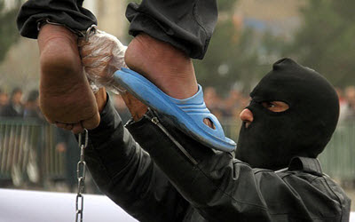 Public execution in Iran