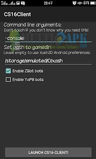 Cara Install Dan Main CS v1.6 di Android