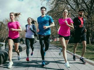 manfaat berlari jogging bersama