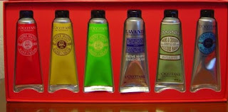 L'Occitane hand creams.jpeg