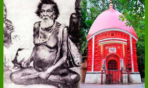 Samadhi Mandir of Bama-Khyapa in Tarapith Maha-Shamshan