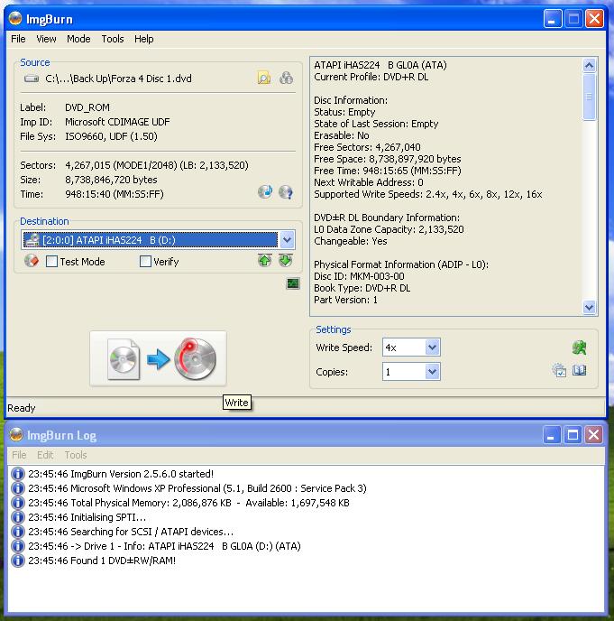 ATAPI iHAS224 B ATA Device Driver Download