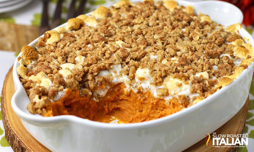http://www.theslowroasteditalian.com/2013/11/sweet-potato-casserole-boston-market-copycat-recipe.html