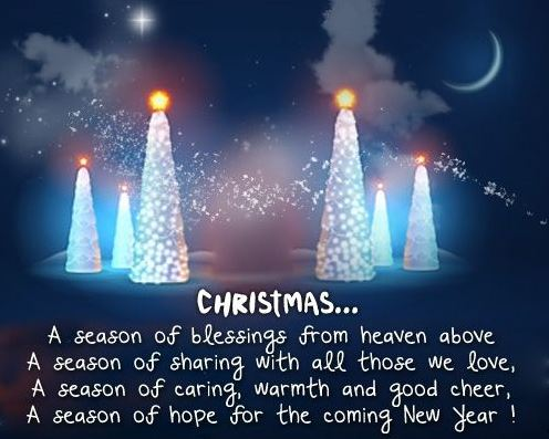 Inspirational Quotes on Merry Christmas and Happy New Year