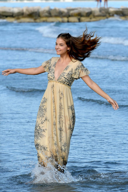 Barbara Palvin – Photoshoot in Venice, Italy