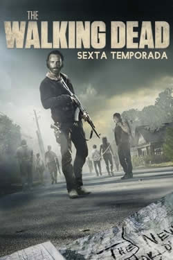 Capa Sexta Temporada de The Walking Dead