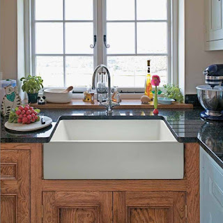 Fireclay Apron Farmhouse Sink
