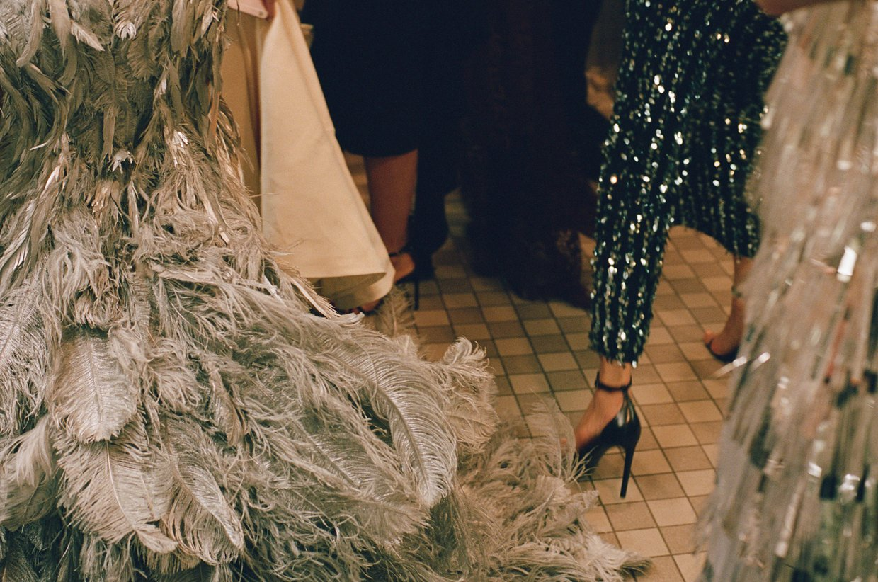 Cass Bird Captures Scenes From the MET Gala Bathroom
