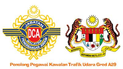 Penolong Pegawai Kawalan Trafik Udara Gred A29